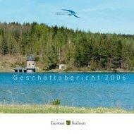 Geschäftsbericht 2006 - Sächsisches Staatsministerium für Umwelt ...