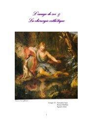 L'image de soi & L'image de soi & La chirurgie esthétique La ...