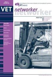 Networker Newsletter WINTER - VETnetwork Australia