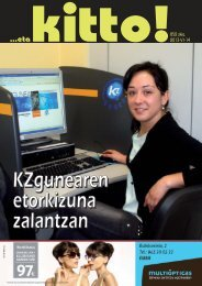 Jaitsi ezazu azkenengo astekariaren PDF-a - Eta Kitto!