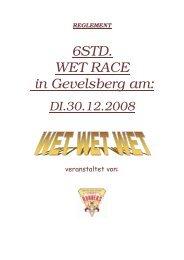 REGLEMENT 6STD. WET RACE in Gevelsberg am - Indoor ...