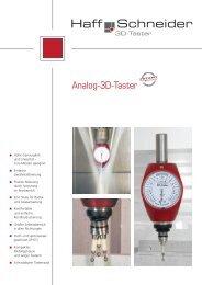 Analog-3D-Taster - Haff & Schneider GmbH & Co. OHG, Nesselwang