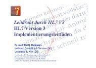 Präsentation - HL7 Deutschland eV