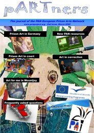The journal of the PAN European Prison Arts Network - EPEA