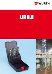 Urbji, vītņurbi, apstrādes instrumentu katalogs - Würth