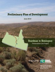 Sections 1-3 - Boardman to Hemingway Transmission Line Project
