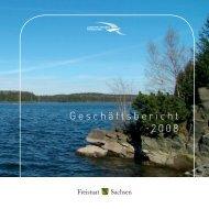 Geschäftsbericht 2008 - Sächsisches Staatsministerium für Umwelt ...
