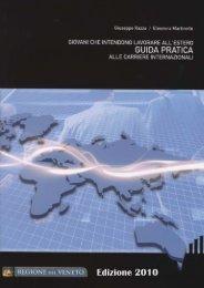 Guida alle Carriere Internazionali - II edizione - Regione Veneto