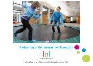 Evaluering af den Interaktive Trampolin - Kids n' Tweens Lifestyle