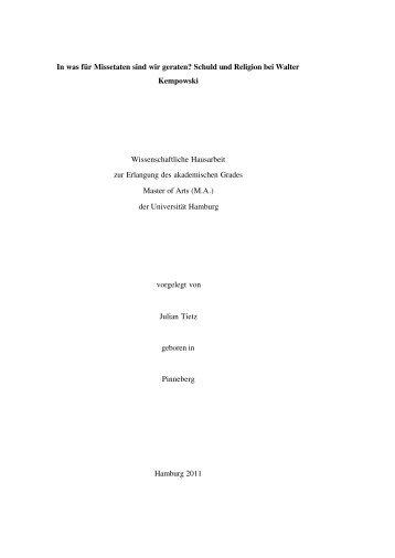 Manuskript - SLM - Universität Hamburg