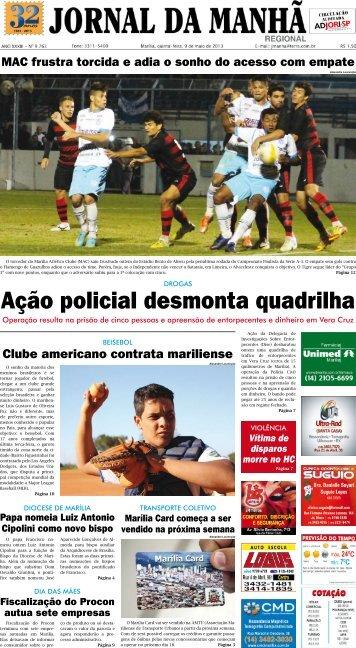Ação policial desmonta quadrilha - Jornal da Manhã