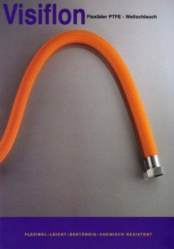 I s I o n Flexibler PTFE - Wellschlauch - tecnoplast.de