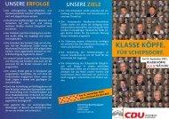 Ortsratsflyer für Schepsdorf - CDU Kreisverband Lingen