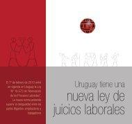 Uruguay tiene una nueva ley de juicios laborales - Rel-UITA