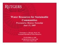 What is stormwater runoff? - Rutgers Cooperative Extension Water ...