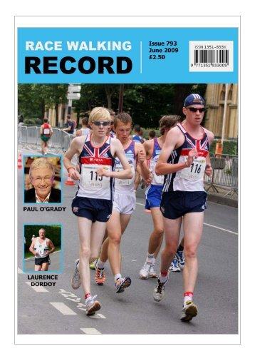 Issue 793 - June 2009 - Race Walk UK