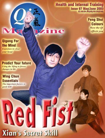 Issue 67 - Tse Qigong Centre