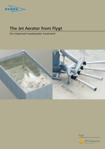 The Jet Aerator from Flygt - Water Solutions