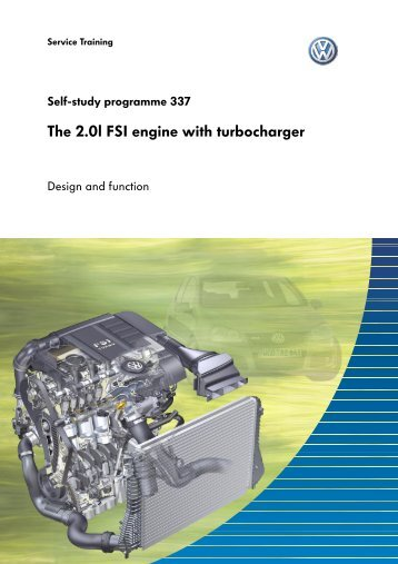 SSP337 The 2.0l FSI engine with turbocharger - VolksPage.Net