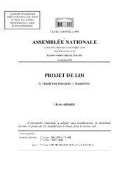 assemblée nationale - Anacofi