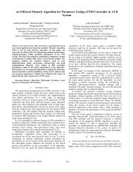 An Efficient Memetic Algorithm for Parameter Tuning ... - Ajith Abraham