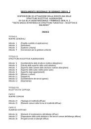 regolamento regionale 30 gennaio 2009 n. 2 indice - Provincia di ...