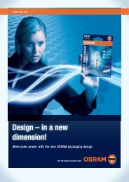 Design – in a new dimension! - Osram