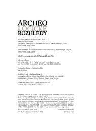 2003_2 - Archeologický ústav AV ČR