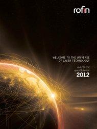 Annual Report - Rofin