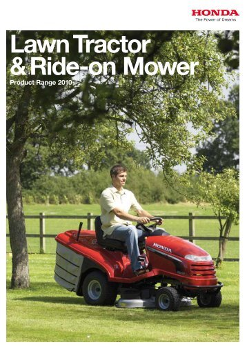 Lawn Tractor & Ride-on Mower - MowWithUs.com