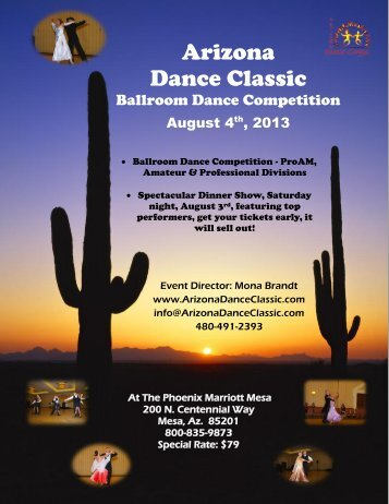 2013 Arizona Dance Classic Ballroom Competition