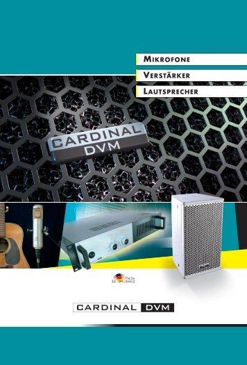 Das Mikrofon für die magischen Momente… - Sommer Cable GmbH