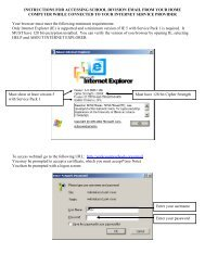 instructions for accessing school division email from your