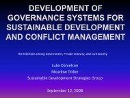 Power Point Presentation - SDSG
