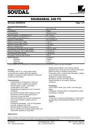Technical Data sheet - Soudal