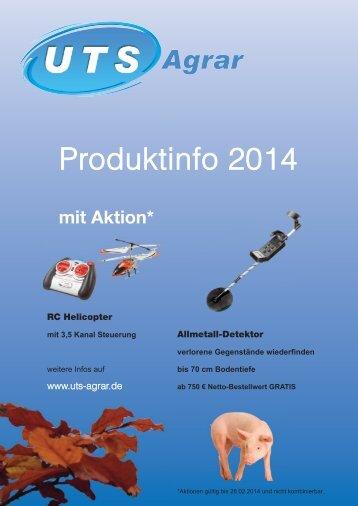 Neuer Katalog! - UTS-Agrar