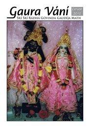červen 2010 - Sri Sri Radha Govinda Mandir