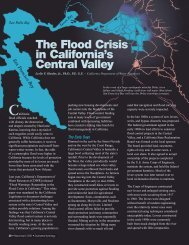 The Flood Crisis in California's Central Valley - Southwest Hydrology