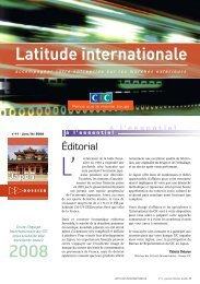 Latitude Internationale n°11 - CIC