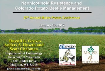 Neonicotinoid resistance and CPB management - Russell Labs Site ...