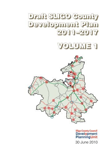 VOLUME 1 - Sligo County Council