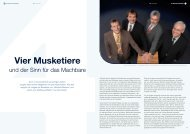 Vier Musketiere - Soennecken