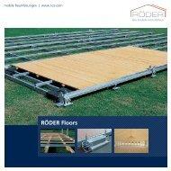 RÖDER Floors.indd - RÖDER Zelt- und Veranstaltungsservice GmbH