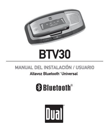 BTV30 - Dual Electronics