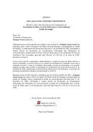 Relatório de Auditoria Independente