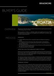 CROATIA - Braemore Group