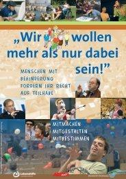 Plakat-Dortmunder-Kongress - Bundesvereinigung Lebenshilfe für ...