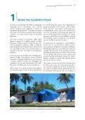 Publication: TURNING AROUND THE TSUNAMI - UN HABITAT - Page 6