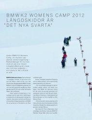 Läs mer BMW K2 Womens Camp.