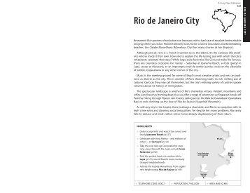 Rio de Janeiro City - Lonely Planet
